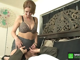 German Deutsche rendezvous mature milf secretary facesitting on connected round big gun  lick my pussy big gun round Destiny Porter