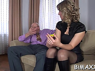 Men anal making out in bi show