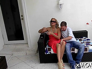Pleasant mother i'd like to fuck drilled hard