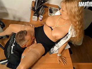 AMATEUR EURO - Blonde Lay Yvonne Fucks Hard There Her Queen