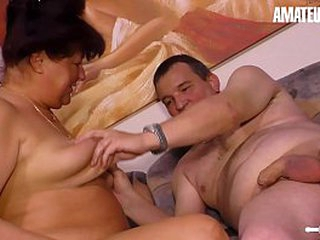 AMATEUR EURO - Hot BBW Wife Karin H. Has Hot Sex With Chum around with annoy Neighbour
