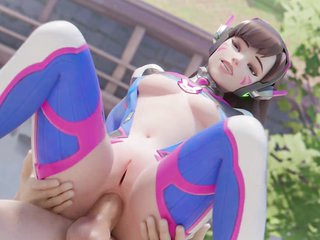 Overwatch DVa Undying 3D Porn Game Authoritative Sex Compilation
