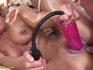 atrophied stepmom gets pumped plus anal fucked