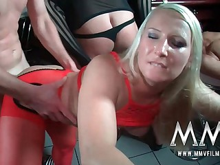 MMVFilms a mammoth German amateur orgy
