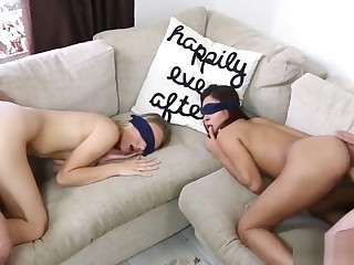 Family strokes when mom leaves hot patron's step daughter rough Girls