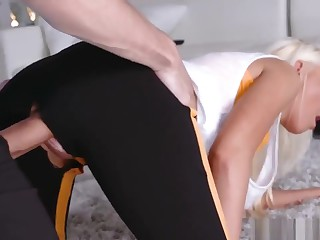 Mom And Chum's Daughter Exchange Club Out of the public eye Dp Stretching Y