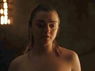 Maisie Williams/Arya Nonplussed Hot SceneGame Be expeditious for Thrones