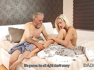 DADDY4K. Save that birthday gift is passionate old coupled with young having it away