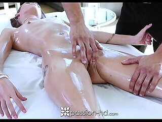 Passion-HD - Oiled palpate with Kacy Lane together with Danny Oodles