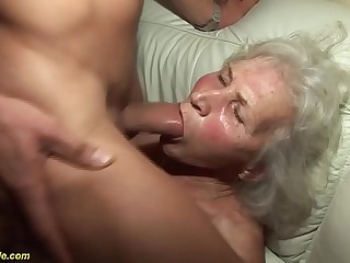 german granny encircling their way crafty porn film over