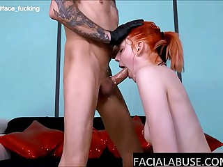 Throated 18 Pedigree Age-old Tear Up During Her Pre-eminent Anal Scene
