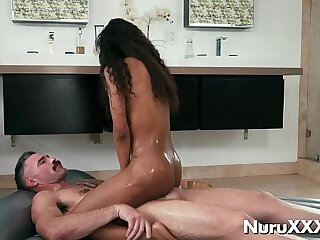 Mr Big hot ebony load of shit rider Demi Sutra