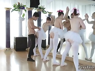 Jalopy car park blowjob xxx Ballerinas <span class=
