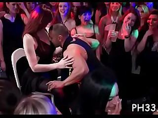 Hardcore sexual intercourse party