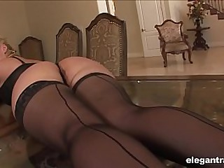 Lusty Melissa does hardcore ANAL with a BBC